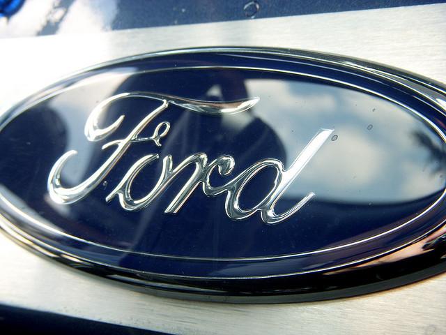 1954 Ford F-100 Interior Logo