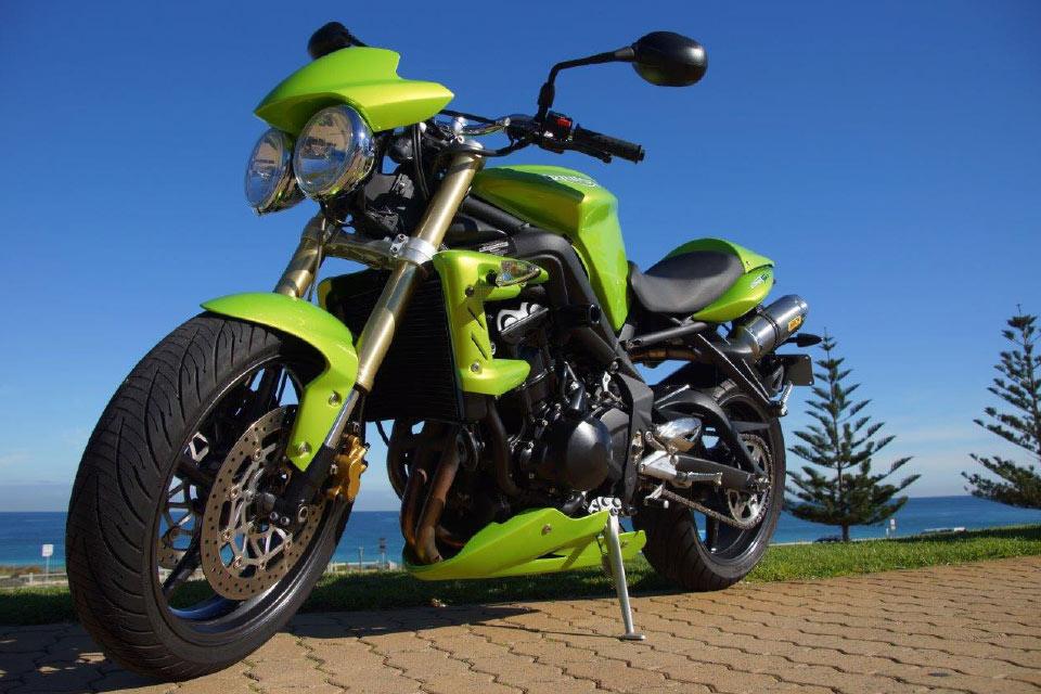 Ducati Motorbike Hire Perth