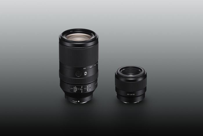 sony new Lenses