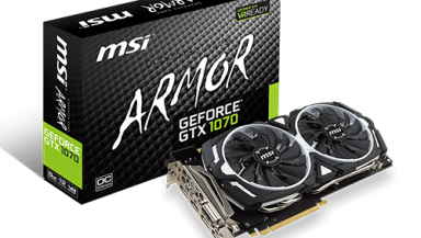 MSI GeForce GTX 1070