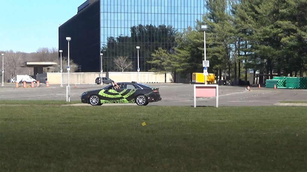 Nvidia's driverless