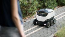 six-wheeled robot
