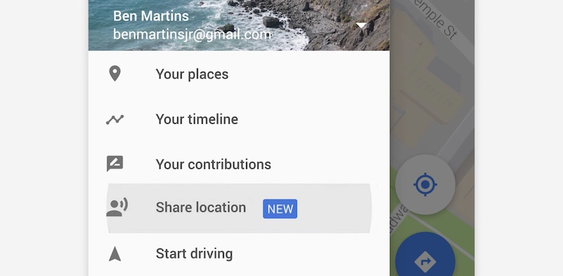google-sharing