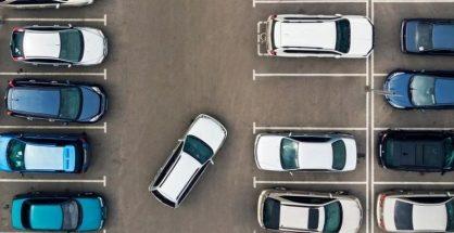 Driving Safely in Parking Lots